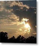 Magical Clouds Metal Print