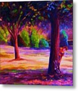 Magical Day In The Park Metal Print