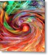 Magical Energy Metal Print by Linda Sannuti
