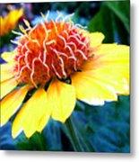 Magical Flower Metal Print