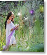 Magical Garden Metal Print