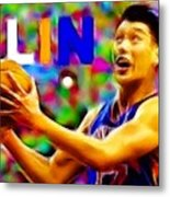 Magical Jeremy Lin Metal Print