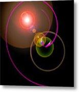 Magical Light And Energy 4 Metal Print
