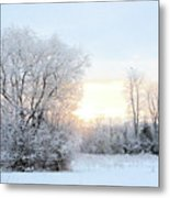 Magical March Morning Metal Print
