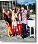 Magical Mystery Tour, The Beatles Metal Print