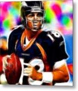 Magical Peyton Manning Borncos Metal Print