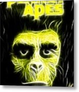 Magical Planet Of The Apes Metal Print