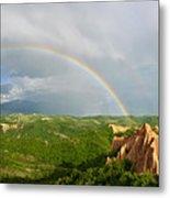 Magical Rainbow Panorama Metal Print