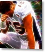 Magical Tebowing Metal Print by Paul Van Scott