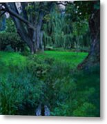 Magical Woodland Glade Metal Print