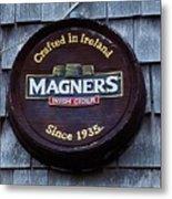 Magners Irish Cider Sign Metal Print