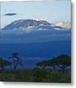 Magnificent Kilimanjaro Metal Print