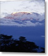 Magnificent Mount Kilimanjaro Metal Print
