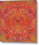 Magnificent Splatters Metal Print