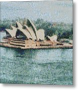 Magnificent Sydney Opera House Metal Print