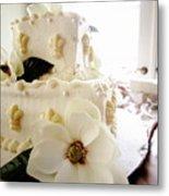 Magnolia Cake Three Metal Print