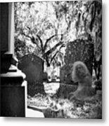 Magnolia Cemetery 75 Metal Print