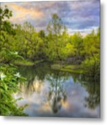 Magnolia Overlook Metal Print