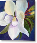 Magnolia Painting Metal Print