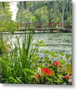 Magnolia Plantation Swamp Garden Metal Print