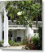 Magnolia Plantation Metal Print