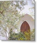 Magnolia Springs Church Metal Print
