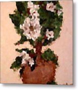 Magnolia Topiary IIi  Metal Print