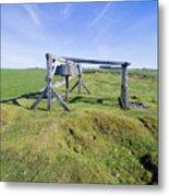 Magpie Mine, Mine, Lead Mine, Derbyshire, Peak District, Mining, Metal Print