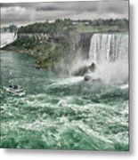 Maid Of The Mist 8971 Metal Print