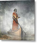 Maid Of The Mists Metal Print