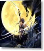 Maikaze Full Moon Metal Print