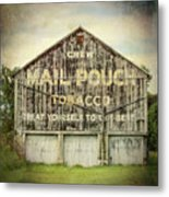 Mail Pouch Barn - Us 30 #7 Metal Print