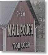 Mail Pouch Special 2 Metal Print
