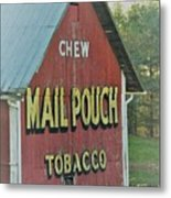 Mail Pouch Special Metal Print