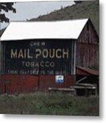 Mail Pouch Tobacco Barn Metal Print