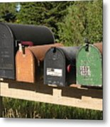 Mail Seakers Metal Print