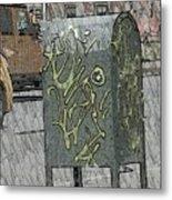 Mailbox Harlem Metal Print