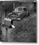 Mailboxcar Metal Print