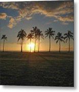 Maili Sunset Metal Print
