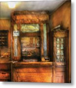 Mailman - The Post Office Metal Print by Mike Savad