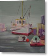 Main Boat 1 Metal Print