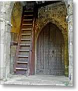 Main Entrance To St Mary's Church At Brading Metal Print