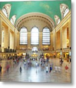 Main Hall Grand Central Terminal, New York Metal Print