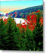 Maine Long Pond Acadia  Metal Print