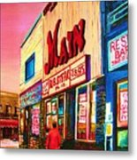 Main Steakhouse Blvd.st.laurent Metal Print