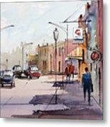 Main Street - Wautoma Metal Print
