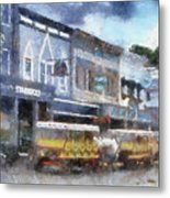 Main Street Mackinac Island Michigan Pa 04 Metal Print