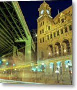 Main Street Station-vertical Metal Print