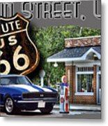 Main Street, Usa Camaro Metal Print
