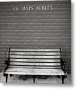 Main Street Usa Metal Print